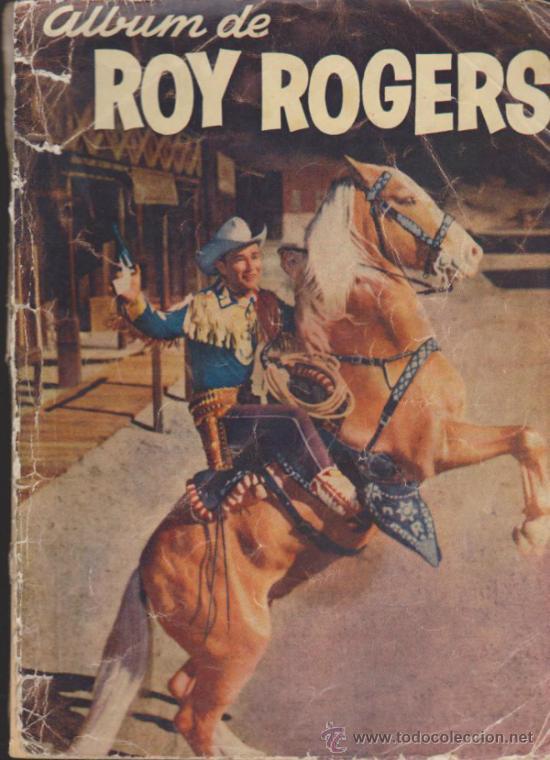 ROY ROGERS.PROBABLEMENTE LAS PORTADAS DE UN ALBUM REETAPADO. LA AVENTURA SE TITU- (Tebeos y Comics - Novaro - Roy Roger)