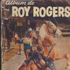 Tebeos: ROY ROGERS.PROBABLEMENTE LAS PORTADAS DE UN ALBUM REETAPADO. LA AVENTURA SE TITU-. Lote 38893196