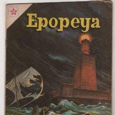 Tebeos: EPOPEYA # 35 EL FARO DE ALEJANDRIA NOVARO 1961 MUY BUEN ESTADO. Lote 38982602