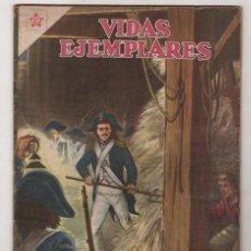 Tebeos: VIDAS EJEMPLARES # 68 SAN JUAN BAUTISTA MARIA VIANNEY, EL CURA DE ARS NOVARO 1959 MUY BUEN ESTADO. Lote 39032546
