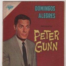 Tebeos: DOMINGOS ALEGRES # 414 PETER GUNN NOVARO 1962 . Lote 39034002