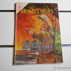 Tebeos: GRANDES VIAJES Nº 16. PRIMERAS EXPLORACIONES DE STANLEY. Lote 39697675