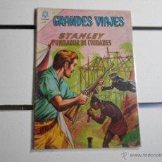 Tebeos: GRANDES VIAJES Nº 18. STANLEY, FUNDADOR DE CIUDADES. Lote 39697685