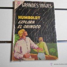 Tebeos: GRANDES VIAJES Nº 23. HUMBOLDT EXPLORA EL ORINOCO. Lote 39697700