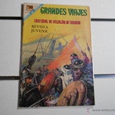 Tebeos: GRANDES VIAJES Nº 61. CRISTOBAL DE VILLALON EN TURQUIA. Lote 39697859