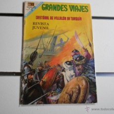 Tebeos: GRANDES VIAJES Nº 61. CRISTOBAL DE VILLALON EN TURQUIA. Lote 39697871