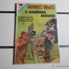 Tebeos: GRANDES VIAJES Nº 103. EL CAMAROGRAFO AVENTURERO. Lote 39697954