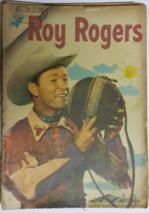 ROY ROGERS # 43 NOVARO 1956 (Tebeos y Comics - Novaro - Roy Roger)