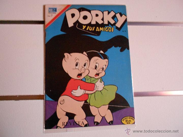 PORKY Nº 281 (Tebeos y Comics - Novaro - Porky)