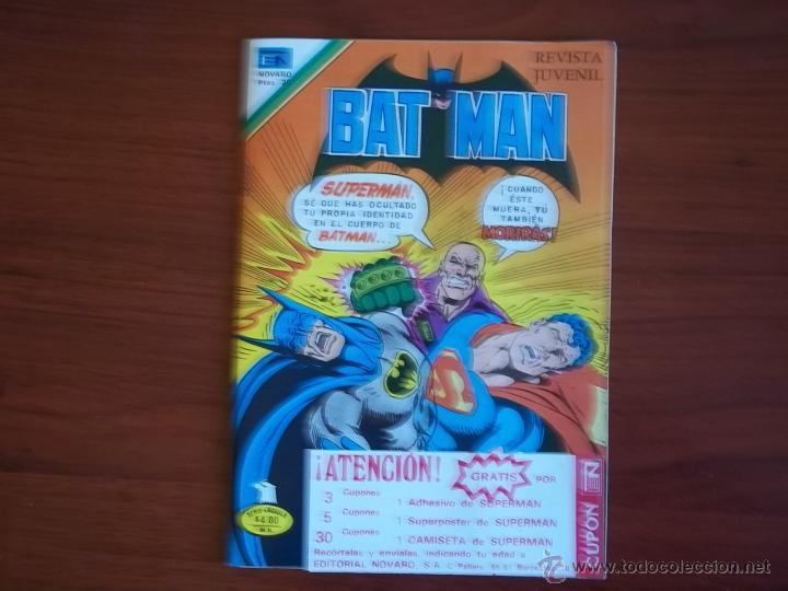 BATMAN - SERIE AGUILA Nº 2-961 - EDIT. NOVARO - AÑO 1979 (Tebeos y Comics - Novaro - Batman)