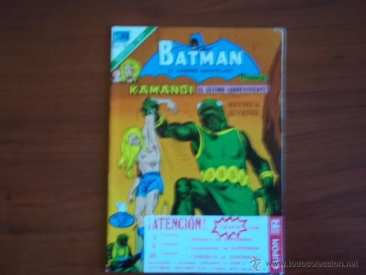BATMAN - SERIE AGUILA Nº 2-920 - EDIT. NOVARO - AÑO 1978 (Tebeos y Comics - Novaro - Batman)
