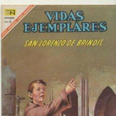 Tebeos: VIDAS EJEMPLARES Nº 244. NOVARO 1967.. Lote 40407111