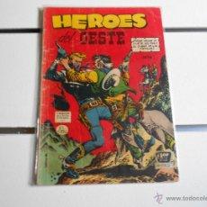 Tebeos: HEROES DEL OESTE Nº 39. Lote 40711194