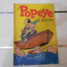 Tebeos: POPEYE, EL MARINO Nº 21. Lote 40772472