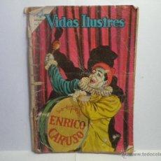 Tebeos: ENRICO CARUSO - VIDAS ILUSTRES Nº 111. Lote 40823100
