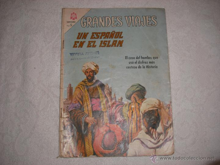 UN ESPAÑOL EN EL ISLAM Nº 40 (Tebeos y Comics - Novaro - Grandes Viajes)