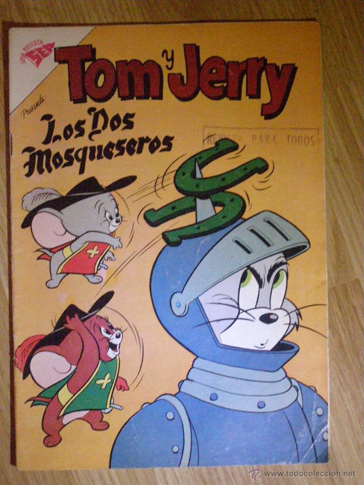 TOM Y JERRY - SEA - AÑO VIII - Nº 100 - DICIEMBRE 1958 - LOS DOS MOSQUESEROS - IMPECABLE - (Tebeos y Comics - Novaro - Tom y Jerry)