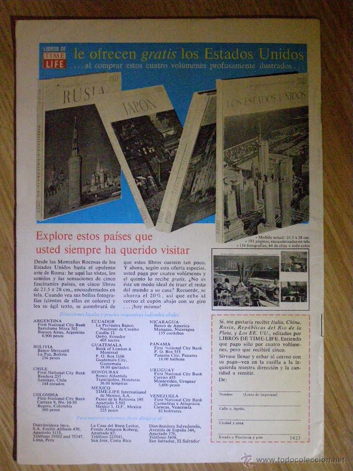 Tebeos: TOM Y JERRY - Novaro -1968 - NRO - nº 260 ¡¡¡CON CROMOS DE FUTBOL !!! de época - Impecable estado - - Foto 2 - 41206501