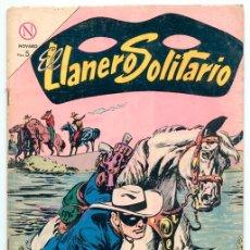 Tebeos: EL LLANERO SOLITARIO - Nº 132 - ED. NOVARO - 1964. Lote 41341918