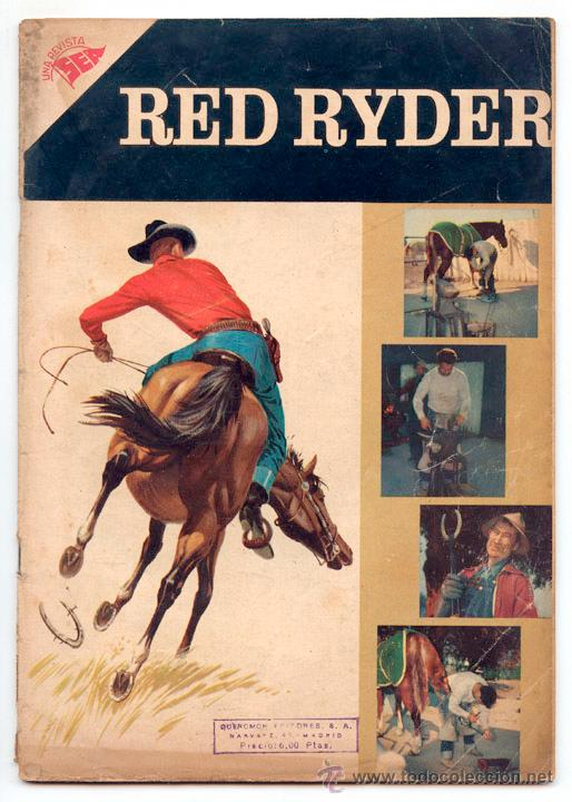 RED RYDER - Nº 30 - SEA - 1957 (Tebeos y Comics - Novaro - Red Ryder)
