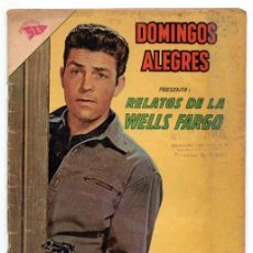 Tebeos: DOMINGOS ALEGRES - Nº 455 - RELATOS DE LA WELLS FARGO - SEA - 1962. Lote 41493291