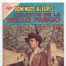 Tebeos: DOMINGOS ALEGRES - Nº 465 - RELATOS DE LA WELLS FARGO - SEA - 1963. Lote 41493334