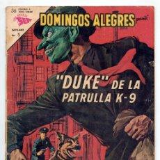 Tebeos: DOMINGOS ALEGRES - Nº 499 - DUKE, DE LA PATRULLA K-9 - SEA - 1963. Lote 41493454