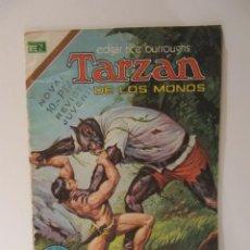 Tebeos: TARZAN DE LOS MONOS Nº 386 NOVARO 1974. INTERIOR PORTADA ANUNCIO EL LLANERO SOLITARIO. Lote 41507718