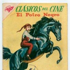 Tebeos: CLÁSICOS DEL CINE - Nº 9 - EL POTRO NEGRO - SEA - 1957. Lote 41516293