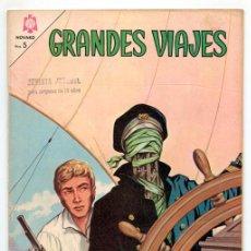 Tebeos: GRANDES VIAJES - Nº 30 - SLOCUM Y SU CÁSCARA DE NUEZ - ED. NOVARO - 1965. Lote 174289789