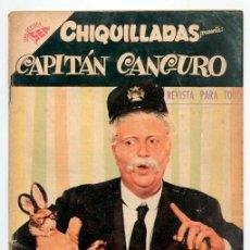 Tebeos: CHIQUILLADAS - Nº 69 - EL CAPITÁN CANGURO - SEA - 1958. Lote 41624658