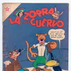 Tebeos: LA ZORRA Y EL CUERVO - Nº 65 - ED. RECREATIVAS MEXICO - 1957. Lote 41636068