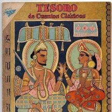 Tebeos: TESORO DE CUENTOS CLASICOS # 29 NOVARO 1960 SAKUNTALA, LA INDIA EXCELENTE. Lote 41700466