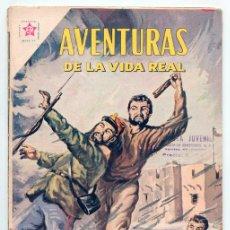 Tebeos: AVENTURAS DE LA VIDA REAL - Nº 53 - DONDE NO PASA EL HOMBRE - ED. RECREATIVAS MEXICO - 1960. Lote 42021862