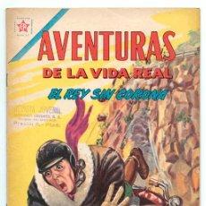 Tebeos: AVENTURAS DE LA VIDA REAL - Nº 75 - EL REY SIN SU CORONA - ED. RECREATIVAS MEXICO - 1962. Lote 42021870