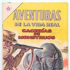 Tebeos: AVENTURAS DE LA VIDA REAL - Nº 86 - CACERÍAS DE MONSTRUOS - ED. RECREATIVAS MEXICO - 1963. Lote 42021890