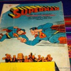 Tebeos: NOVARO SUPERMAN Nº 94. AÑO 1957. SUPERMAN Y SU FUTURO. MUY, MUY DIFÍCIL. REGALO Nº 182.. Lote 42069855