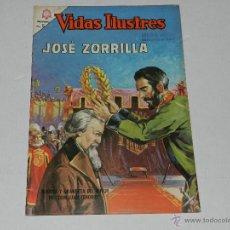 Livros de Banda Desenhada: (M-21) VIDAS ILUSTRES - JOSE ZORRILLA , NUM 128 , EDT NOVARO 1965 , SEÑALES DE USO. Lote 42077929