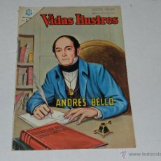 Tebeos: (M-21) VIDAS ILUSTRES - ANDRES BELLO , NUM 118 , EDT NOVARO 1965 , SEÑALES DE USO. Lote 42078042