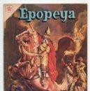 Tebeos: EPOPEYA - Nº 23 - GENGIS KHAN, SEÑOR DE ASIA - ED. RECREATIVAS MEXICO - 1960. Lote 42175347