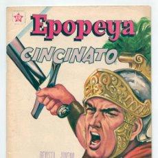 Tebeos: EPOPEYA - Nº 47 - CINCINATO - ED. RECREATIVAS MEXICO - 1962. Lote 42175362