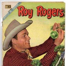 Tebeos: ROY ROGERS # 196 NOVARO 1968 ATRACO FRUSTRADO - FUTBOL: VERACRUZ, IRAPUATO.. MUY BUEN ESTADO. Lote 42217939