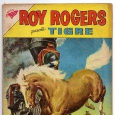 Tebeos: ROY ROGERS # 115 NOVARO 1962 TIGRE EN LA CACERIA - BUEN ESTADO. Lote 42232390