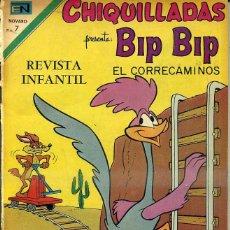 Tebeos: CHIQUILLADAS NOVARO Nº 311 : BIP BIP EL CORRECAMINOS. Lote 42249586
