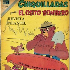 Tebeos: CHIQUILLADAS NOVARO Nº 296 : EL OSITO BOMBERO. Lote 42249603