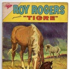 Tebeos: ROY ROGERS # 120 NOVARO 1962 LA GUARIDA DE LOS CUATREROS - MUY BUEN ESTADO. Lote 42257068