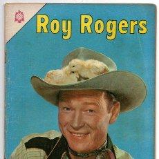 Tebeos: ROY ROGERS # 162 NOVARO 1966 EL EXTRAÑO FUGITIVO - MUY BUEN ESTADO. Lote 42274711