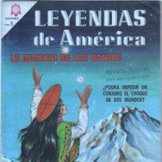 Tebeos: NOVARO - LEYENDAS DE AMERICA Nº 124 - 1966 - LA GUERRA DE LOS ASTROS - EXCELENTE ESTADO. Lote 42307296