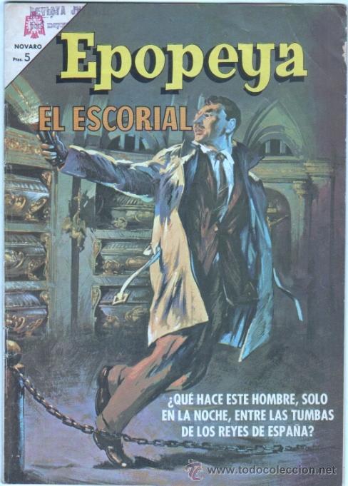 EPOPEYA Nº 92 - 1966 - EL ESCORIAL - EXCELENTE ESTADO (Tebeos y Comics - Novaro - Epopeya)