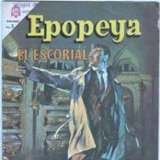 Tebeos: EPOPEYA Nº 92 - 1966 - EL ESCORIAL - EXCELENTE ESTADO. Lote 42307616